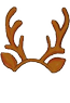 Brown-Reindeer Headband