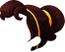 Red-Long Ponytail Hair