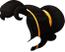 Black-Long Ponytail Hair