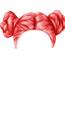 Red Double Bun