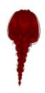 Long Braids Red