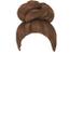 Brown Bun