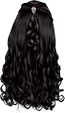 Black-Long Wavy