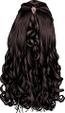 Brown-Long Wavy