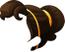 Brown-Long Ponytail Hair