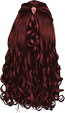Red-Long Wavy