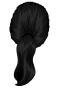 Black-Ponytail
